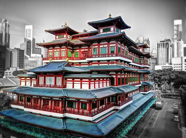 Templo y Museo de la Reliquia del Diente de Buda, Singapur