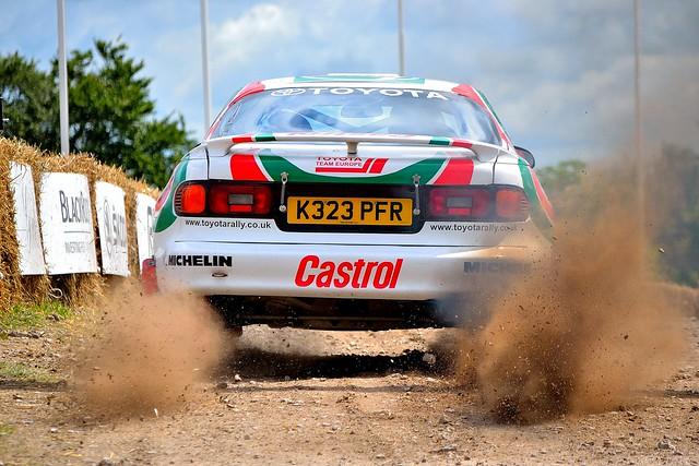 Toyota Celica Rally Car (Castrol Livery)