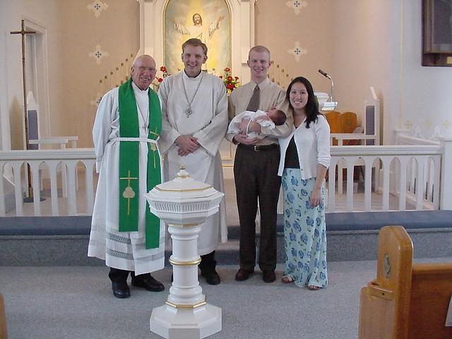 Rebecca Baptism