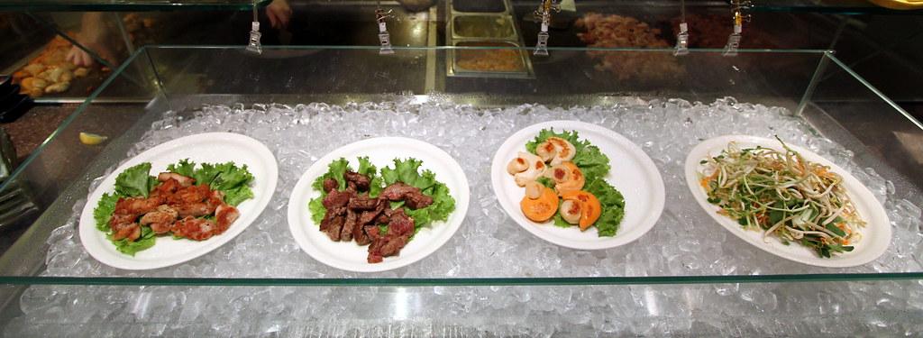Kiseki Japanese Buffet Restaurant: Western Grill Selection: Garlic Ribeye Steak & others
