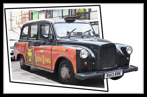 0016-THE LION KING-TAXI DE LONDRES