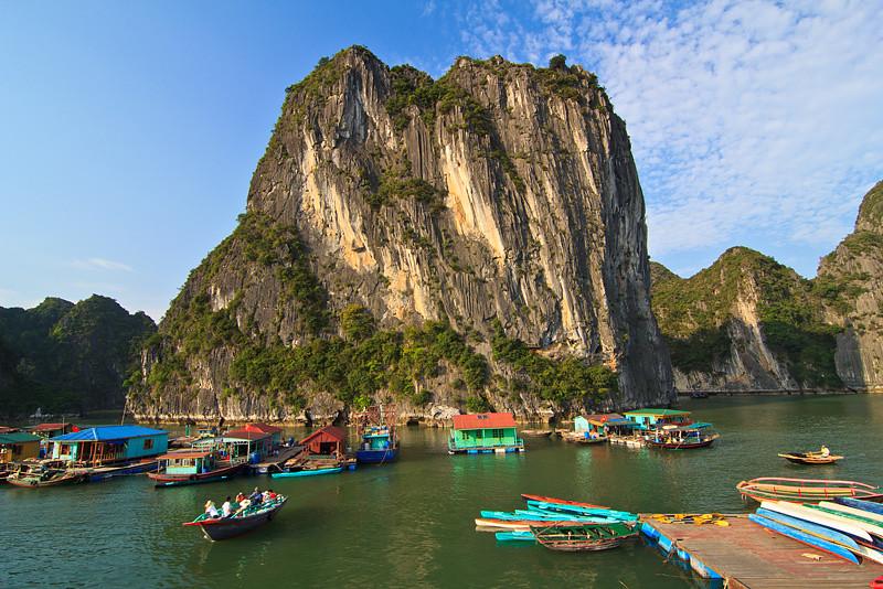 Cua Van Floating Village