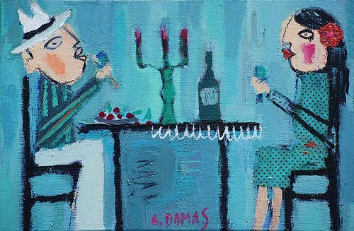 "Little painting - ""Cheers"" by good mood factory / Anita Damas"