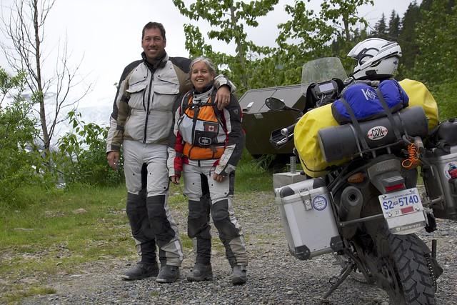 Sara & Daniel Salmon Glacier
