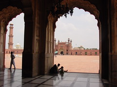 Lahore Mosque and fort