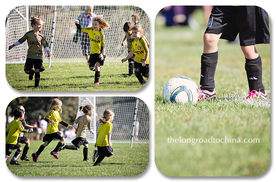 Soccer Collage 4