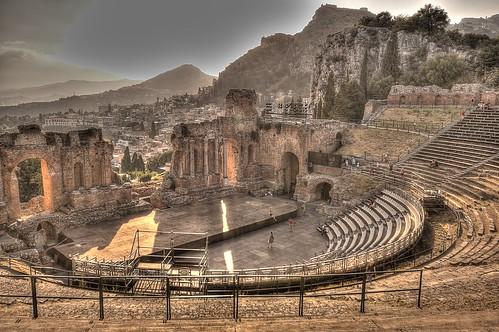 Teatro Griego de Taormina, Sicilia. - Pedro Pablo Pinacho Davidson