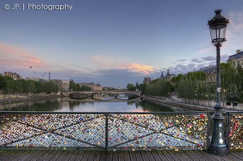 Sunrise, Pont des Arts