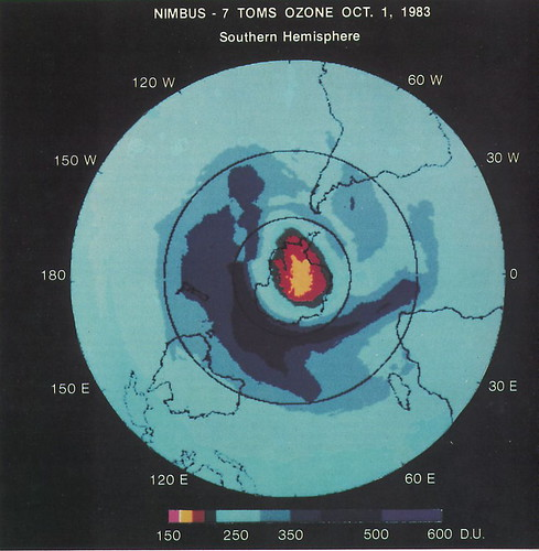 First Space-Based View of the Ozone Hole by NASA Goddard Photo and Video