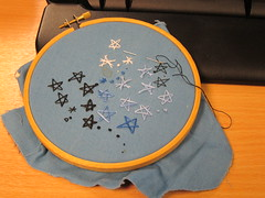 star stitching practice front