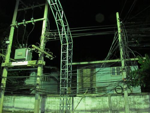 Tendido electrico Kanchanaburi
