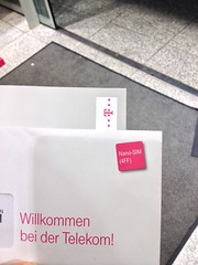 Nano-SIM (4FF) im Umschlag