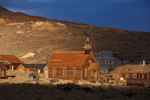 Storm Light at Bodie State Historic Park