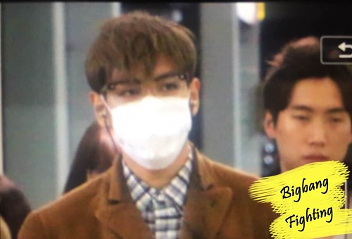 TOP - Incheon Airport - 05nov2015 - BigbangFighting - 02