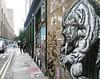 @pyramidoracle loving his work on #bricklane #streetart #streetartlondon #graffiti #urbanart #wheatpasteart #instagraffiti