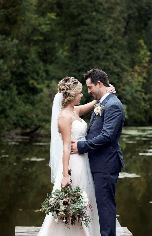 Lyndsey & Mike | Modern meets Rustic Goderich  Wedding