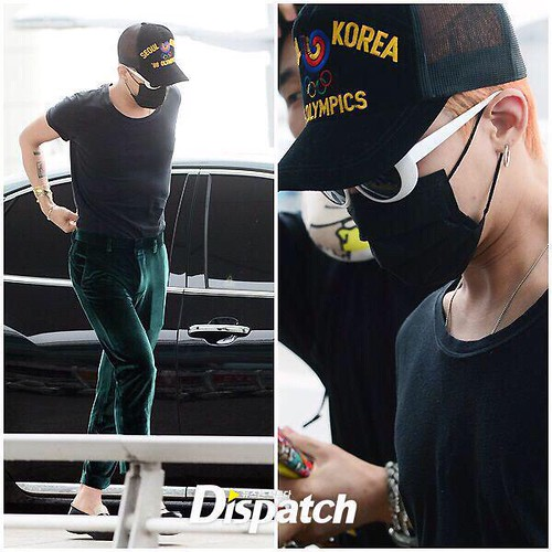 Big Bang - Incheon Airport - 26jun2015 - Dispatch - 01