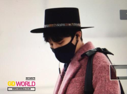Big Bang - Incheon Airport - 21mar2015 - G-Dragon - GD World - 01