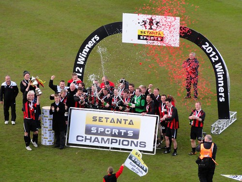 Crusaders F.C. Setanta Sports Champions 2012