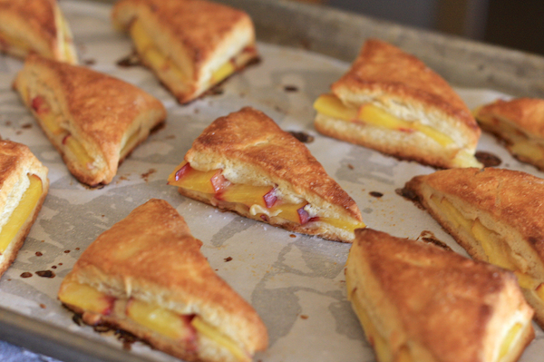 Peaches & Cream Scones 20