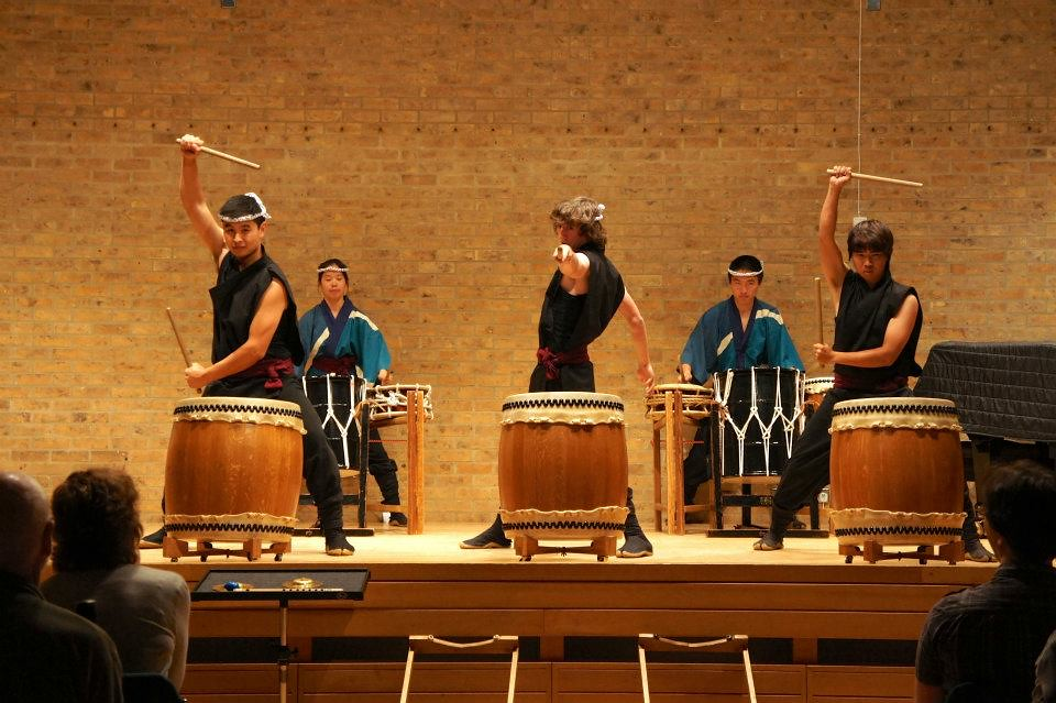 Stanford University Chorale and Taiko Ensemble 2012 Tour of the United Kingdom