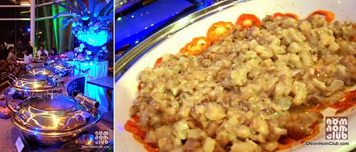 Asaian Station & Pork Sisig (right)