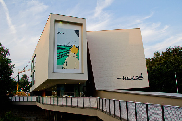 Belgique - Brabant wallon - Louvain-La-Neuve - Musée Hergé