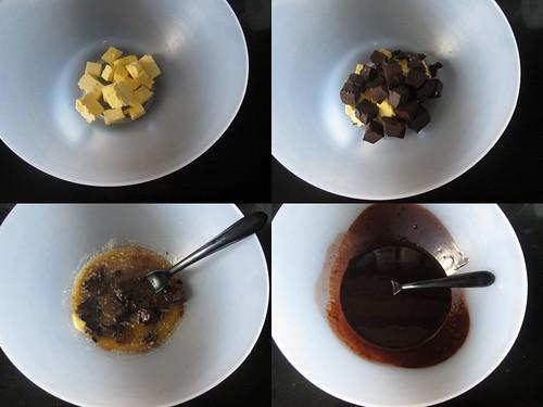 Double Chocolate Brownies-step1