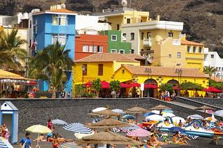 صورة Playa de Puerto de Tazacorte. beach strand kanaren playa lapalma kanarischeinseln tazacorte
