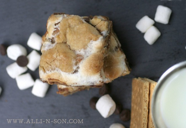Peanut Butter Cup S'mores Bars Recipe