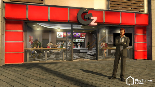 Granzella Store in PlayStation Home
