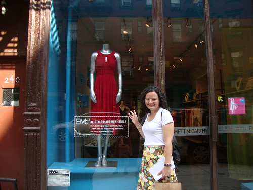 Emmet McCarthy's store (Project Runway Season, er....)