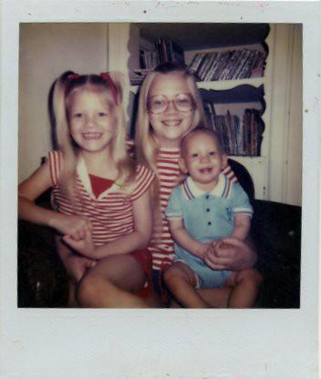 me, chris, geoff - 1982