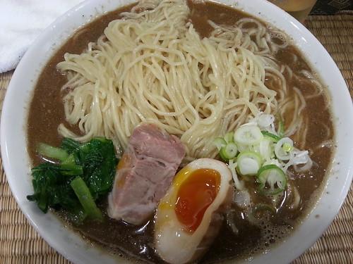 ra120814東京いまむら 東京そば 醤油味 大盛 煮干10倍