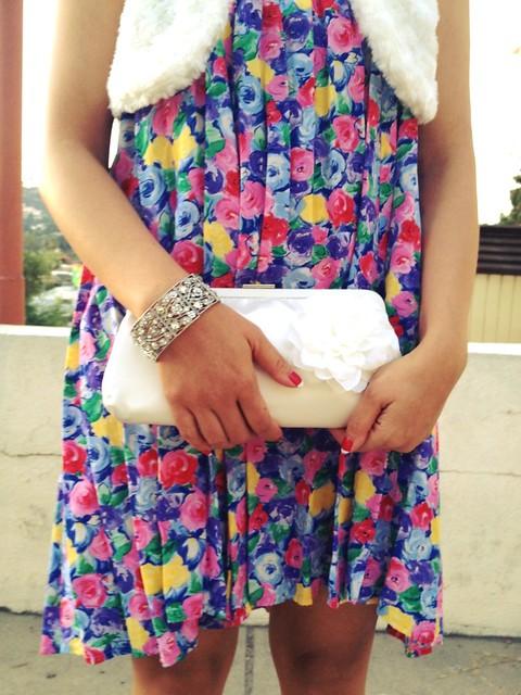 floral, clutch, bracelet, pslilyboutique