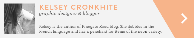 Kelsey Cronkhite Pinegate Road blog Life and Letters
