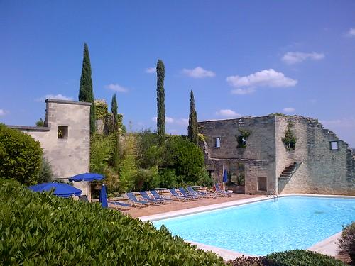 Dejuner, Castillon du Gard