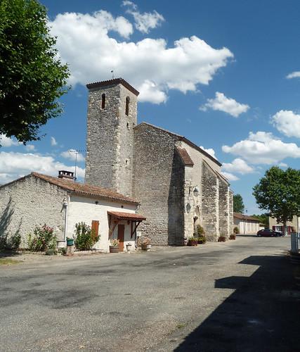 Durance - L'Eglise Saint Etienne 02