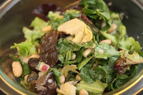 Beans and Greens Salad