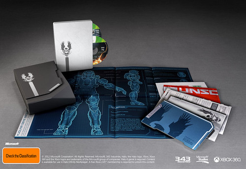 Halo 4 Limited Edition Gets Detailed
