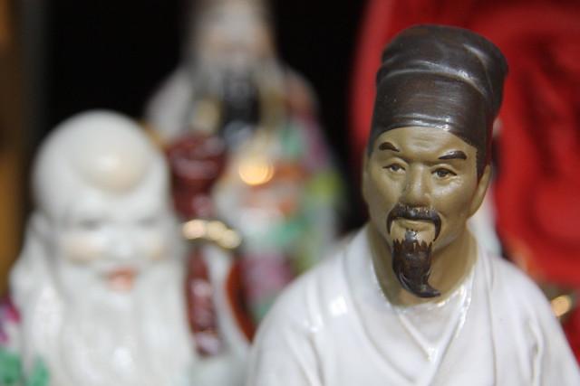 En la tienda de antigüedades chinas