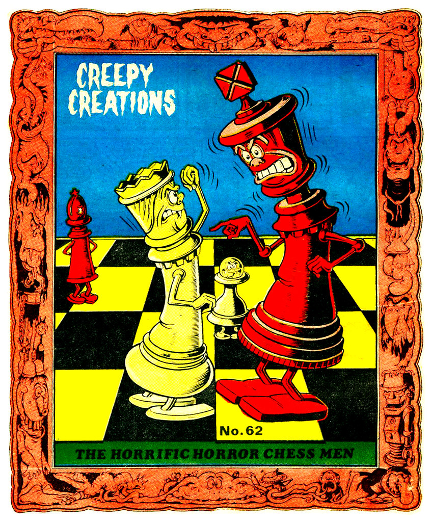 Creepy Creations No.62 - The Horrific Horror Chess Men