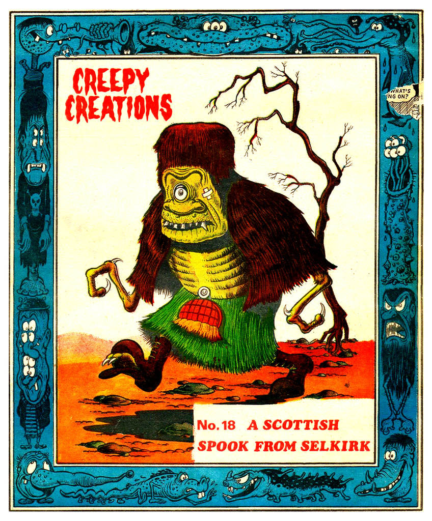Creepy Creations No.18 - A Scottish Spook From Selkirk