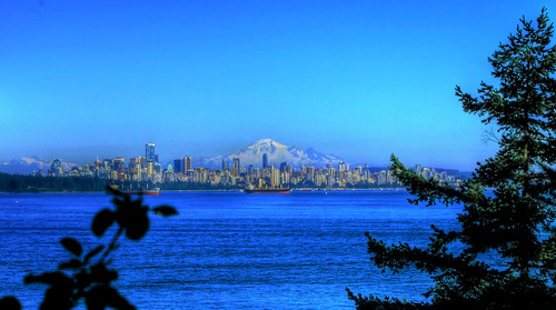 View of Downtown Vancouver from Lighthouse Park