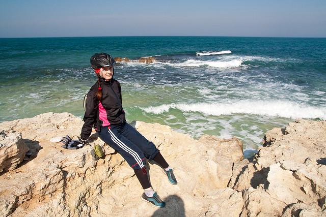 Natasha by the sea
