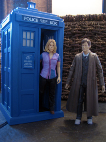 Doctor Who, Rose and the Tardis