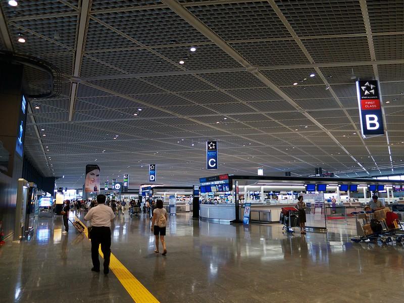 2012 台湾旅行 成田空港