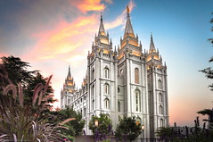 Salt Lake City Utah LDS (Mormon) Temple lds temple photo