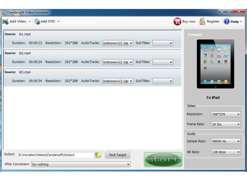 Cendarsoft Video Converter