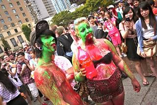 2012 Vancouver Zombiewalk | Vancouver Art Gallery